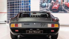 Il posteriore della Lamborghini Miura