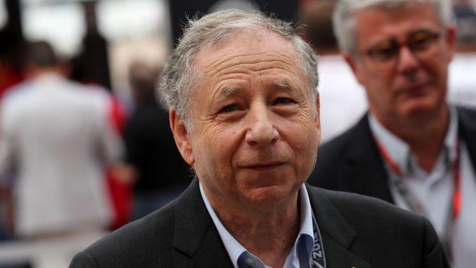 Il presidente della Fia, Jean Todt