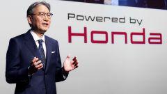Il presidente di Honda, Toshihiro Mibe