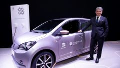 Il presidente di Seat, Luca De Meo, intervenuto al Mobile World Congress di Barcellona