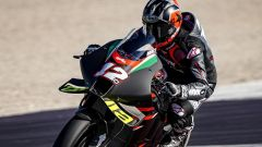 Le prime foto di Maverick Vinales in sella all'Aprilia RS-GP