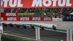 Il primo giro del GP della Comunità Valenciana 2019 al Ricardo Tormo di Cheste