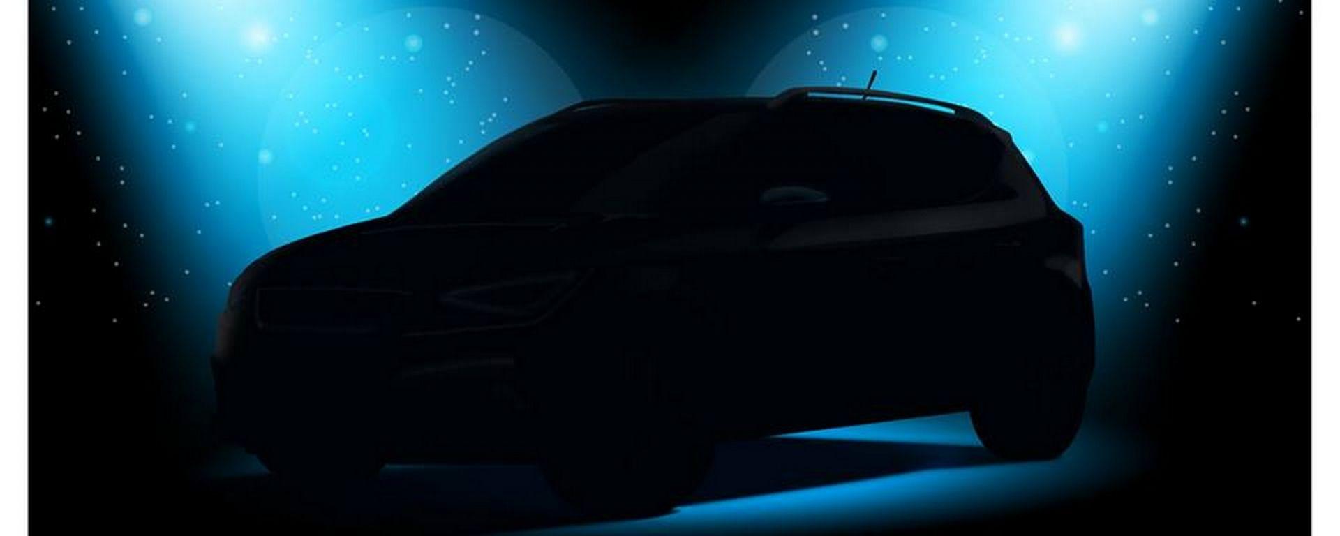 Il primo teaser della nuova Seat Arona, SUV di segmento B atteso a Francoforte