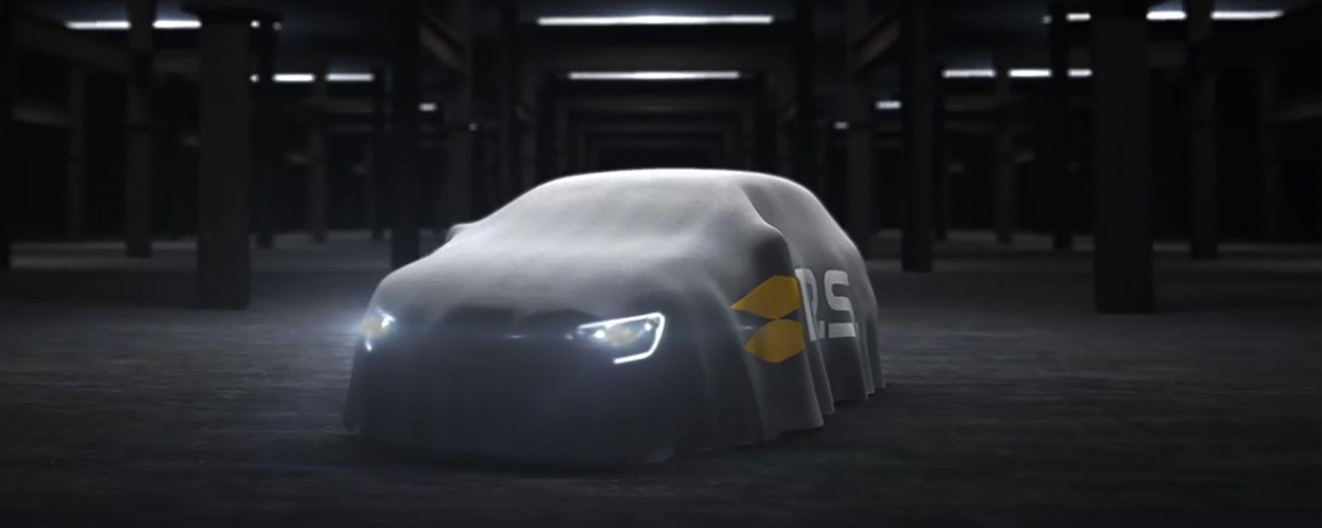 Il primo teaser della Renault Megane R.S.
