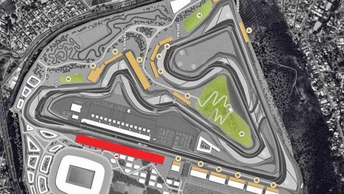 Il progetto del nuovo circuito di Rio De Janeiro