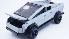 Il progetto di un Lego Cybertruck potrebbe diventare realtà