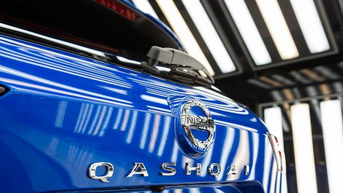 Il psoteriore di Nissan Qashqai 2021