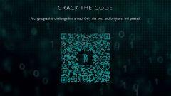 Il QR code che fa partire il gioco sullo smartphone