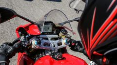 Il quadro strumenti della Ducati Panigale V4s