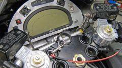 Il quadro strumenti della Suzuki Hayabusa Turbo da record di velocità