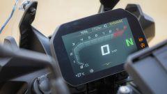 Il quadro strumenti (opzionale) della BMW F 850 GS