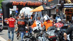 Il raduno Harley-Davidson a Salò