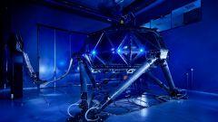 """Il """"ragno"""" nella fabbrica Dallara di Indianapolis   Foto: Dallara"""