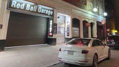 Il Red Ball Garage: punto di partenza della corsa