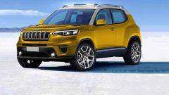 Nuovo SUV Jeep, nel 2022 con un nuovo powertrain elettrico?