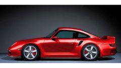 Il rendering della 959/911 Turbo 2020 di colore rosso