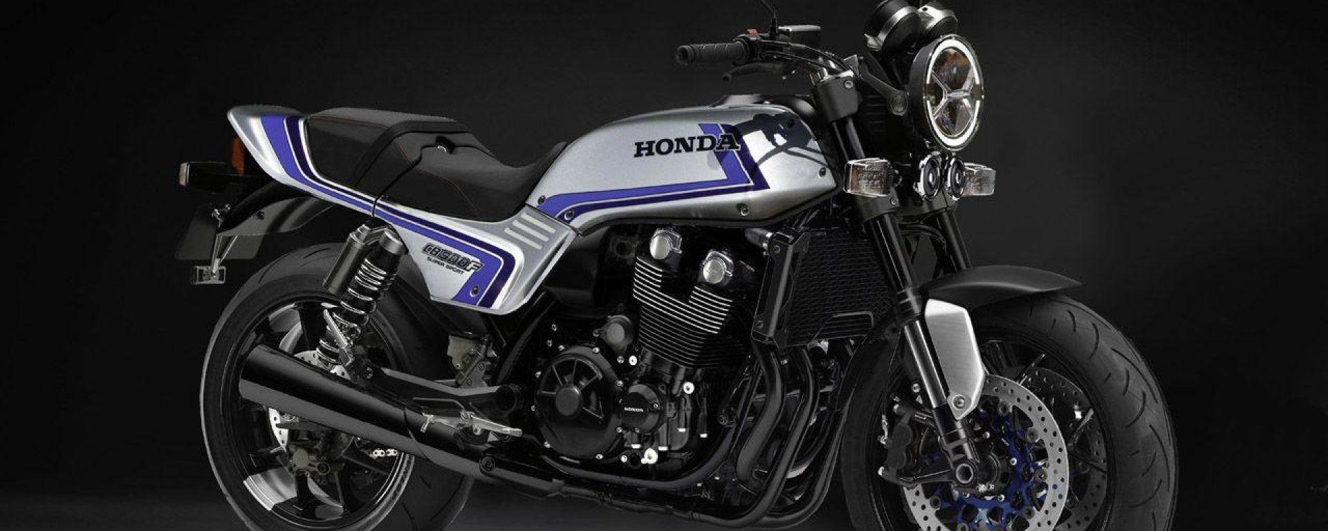 Il rendering della Honda CB 900 F per opera dei giapponesi di Young Machine