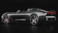 Il rendering della USD Barchetta Alfa Romeo ad oper di Ugur Sahin Design