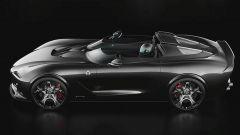Il rendering della USD Barchetta Alfa Romeo: il profilo laterale