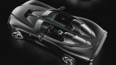 Il rendering della USD Barchetta Alfa Romeo: vista 3/4 posteriore dall'alto