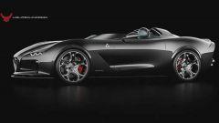 Il rendering della USD Barchetta Alfa Romeo