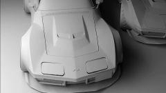 Il rendering immagina una Chevrolet Corvette