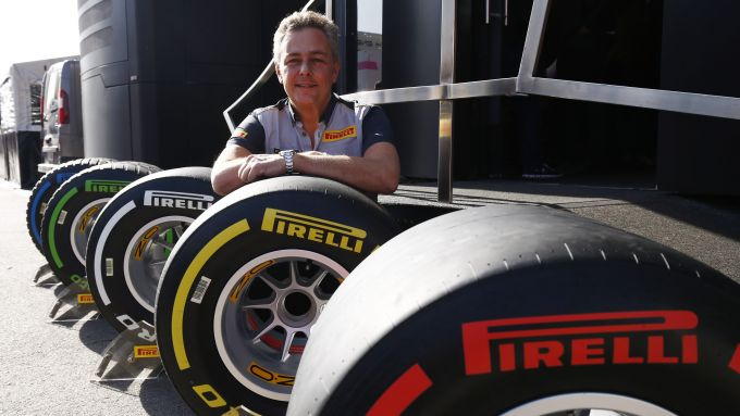 Il responsabile F1 e Car Racing Pirelli, Mario Isola