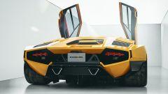 Il retro della Lamborghini Countach by Karan Adivi
