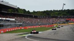 Il rettilineo del circuito di Hockenheim - Formula Uno