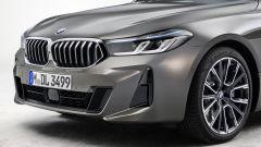 Il rinnovato frontale della nuova BMW Serie 6 GT 2020