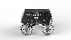 Il rover Moonraker del team Hakuto Suzuki: vista laterale