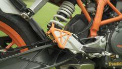 Il sensore di BrakeBuTT montato in prossimità del freno posteriore