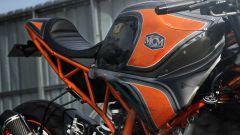 Il serbatoio della KTM RC 250 Café Racer by Minority Custom Motorcycles