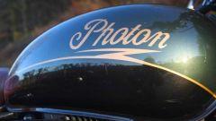 Il serbatoio della Photon, la Royal Enfield elettrica realizzata dagli inglesi di ECC