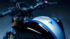 Il serbatoio della Yamaha MT-09 SP