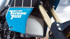 Il serbatoio della Yamaha Ténéré 700 Rally Edition