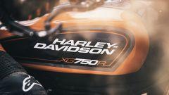 Il serbatoio dell'Harley-Davidson XG750R del 2020