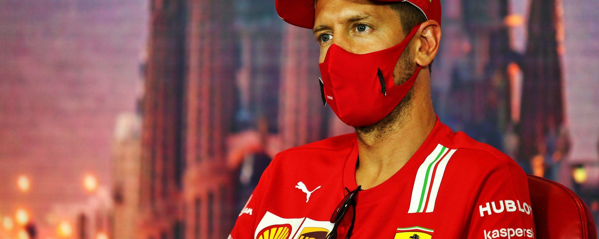 Vettel senza più parole