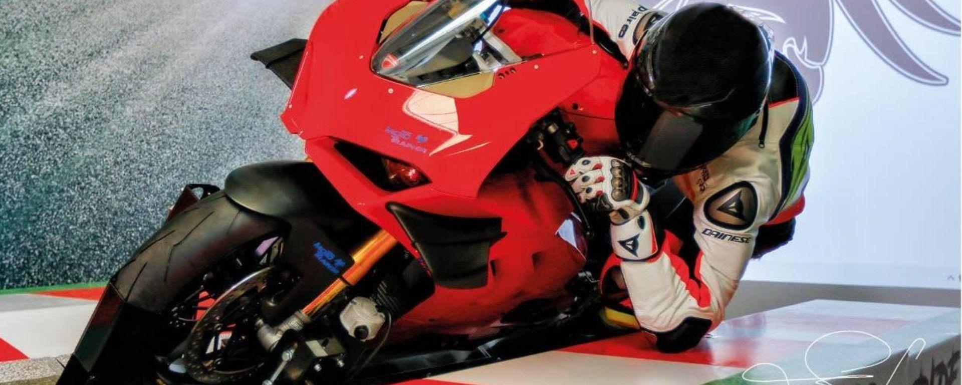 Il simulatore Moto Trainer è adatto per tutte le moto