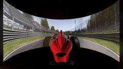 Il simulatore professionale sul quale si allenano i piloti