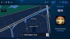 Il sistema di navigazione di Ford Sync 4 su schermi da 12