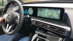 Il sistema infotelematico MBUX di Mercedes-Benz EQC