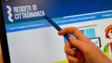 Il sito web dedicato al Reddito di Cittadinanza del Ministero del Lavoro