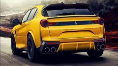 Ferrari Purosangue: il SUV nel rendering di un designer russo