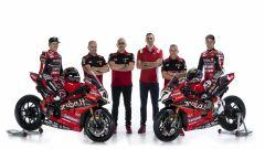 Il Team Aruba.it - Ducati WSBK 2020 al completo
