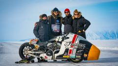 Il team che porterà la Indian Appaloosa al Baikal Mile Ice Speed Festival 2020