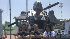 Il team Megabots con il creatore di Monkey King