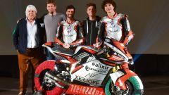 Il team MV Agusta Forward 2021 al gran completo