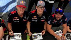 Il Team Peugeot Hansen al completo in vista della trasferta in Canada