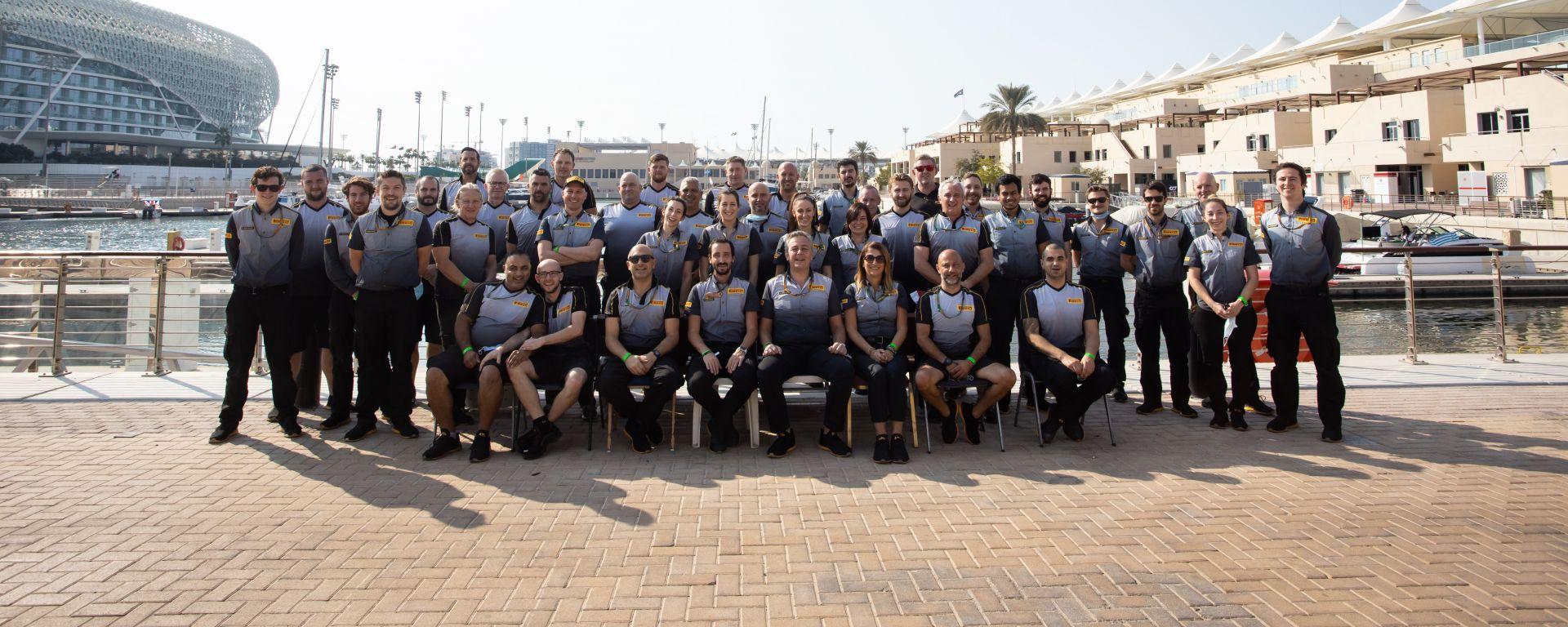 Il team Pirelli Formula 1